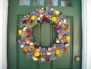 natural wreaths outdoor